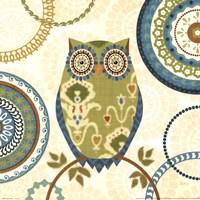 Owl Forest I Fine Art Print