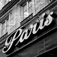 Newsprint Paris Fine Art Print