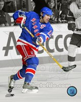 Mark Messier 2004 Spotlight Action Fine Art Print
