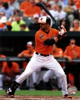 Nick Markakis 2012 Action Fine Art Print