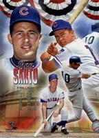 Ron Santo 2012 MLB Hall of Fame Legends Composite Fine Art Print