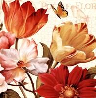 Poesie Florale III Framed Print
