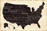 USA V Fine Art Print