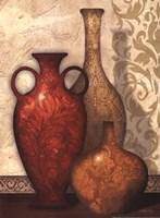 Vase Trio I Fine Art Print