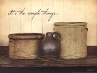 It's The Simple Things Fine Art Print