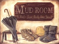 Muddy Shoes Fine Art Print