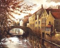 Along The Waterway Fine Art Print