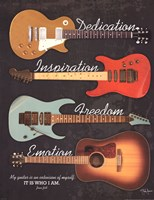 My Guitar Fine Art Print