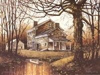 Autumn Woods Fine Art Print