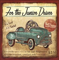 Junior Driver Fine Art Print