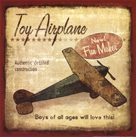 Toy Airplane Framed Print