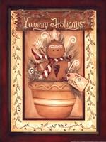 Yummy Holidays Fine Art Print