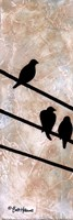 Birds On A Wire I Fine Art Print
