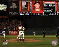 Matt Cain throws a Perfect Game AT&T Park June 13, 2012 Fine Art Print