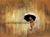 Dance Rain Fine Art Print