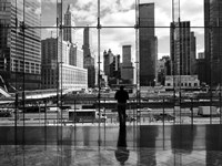 Looking At Ground Zero Fine Art Print