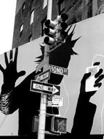 Bond Street Billboard Fine Art Print