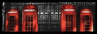 Red Telephone Boxes, London Fine Art Print