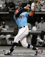 Evan Longoria 2012 Spotlight Action Fine Art Print