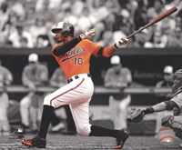 Adam Jones 2012 Spotlight Action Fine Art Print