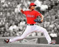 Yu Darvish 2012 Spotlight Action Fine Art Print