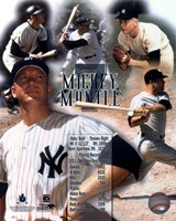 Mickey Mantle Legends Fine Art Print