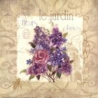 Le Jardin Framed Print