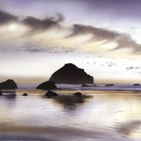 Twilight On The Coastline Fine Art Print