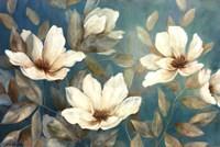 Shade Of Blue Framed Print