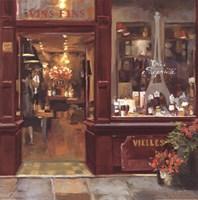 Parisian Shoppe II Fine Art Print