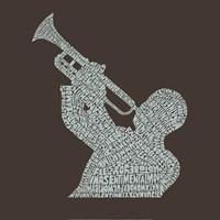 Jazz Tunes Fine Art Print