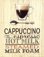 Cappucino Framed Print