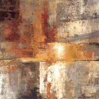 Silver and Amber Crop Fine Art Print