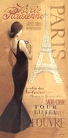 Ladies of Paris I Framed Print