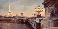Parisian Evening Crop Fine Art Print