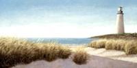 Lighthouse by the Sea Fine Art Print