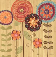 Folklore Garden I Fine Art Print