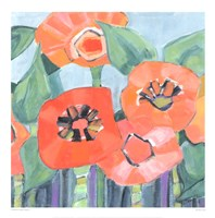 Poppin Poppies II Fine Art Print