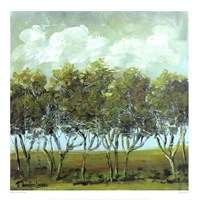 Walking Trees Fine Art Print