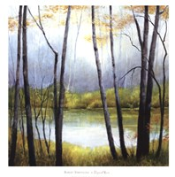 Tranquil River Fine Art Print