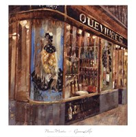 Gourmet Shop Fine Art Print