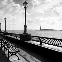 Liberty Bench Fine Art Print