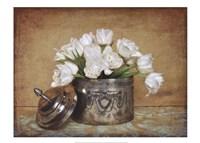 Vintage Tulips II Fine Art Print
