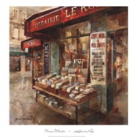 Librarie Paris Fine Art Print