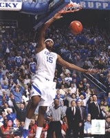 DeMarcus Cousins University of Kentucky Wildcats 2010 Action Fine Art Print
