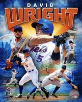 David Wright 2012 Portrait Plus Fine Art Print