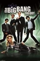 The Big Bang Theory - Group Wall Poster