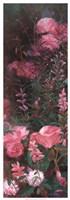 Pink Azalea Garden I Framed Print