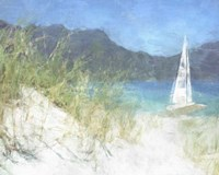 Yacht Waiting Fine Art Print