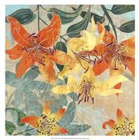 Tiger Lilies I Fine Art Print